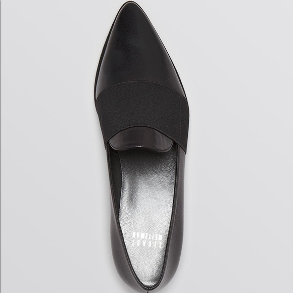 Stuart Weitzman Patent Leather Pointed-Toe Loafers sale new arrival 2014 newest for sale f2ftH